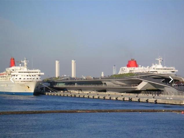 【横浜大さん橋と、くじらのせなか】 入港予定をチェックしていこう