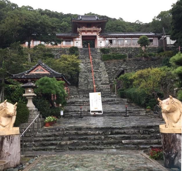 【和歌浦天満宮】 日本の三菅廟の一つ。大宰府へ左遷させられる道中、菅原道真公が和歌浦に来ていた!