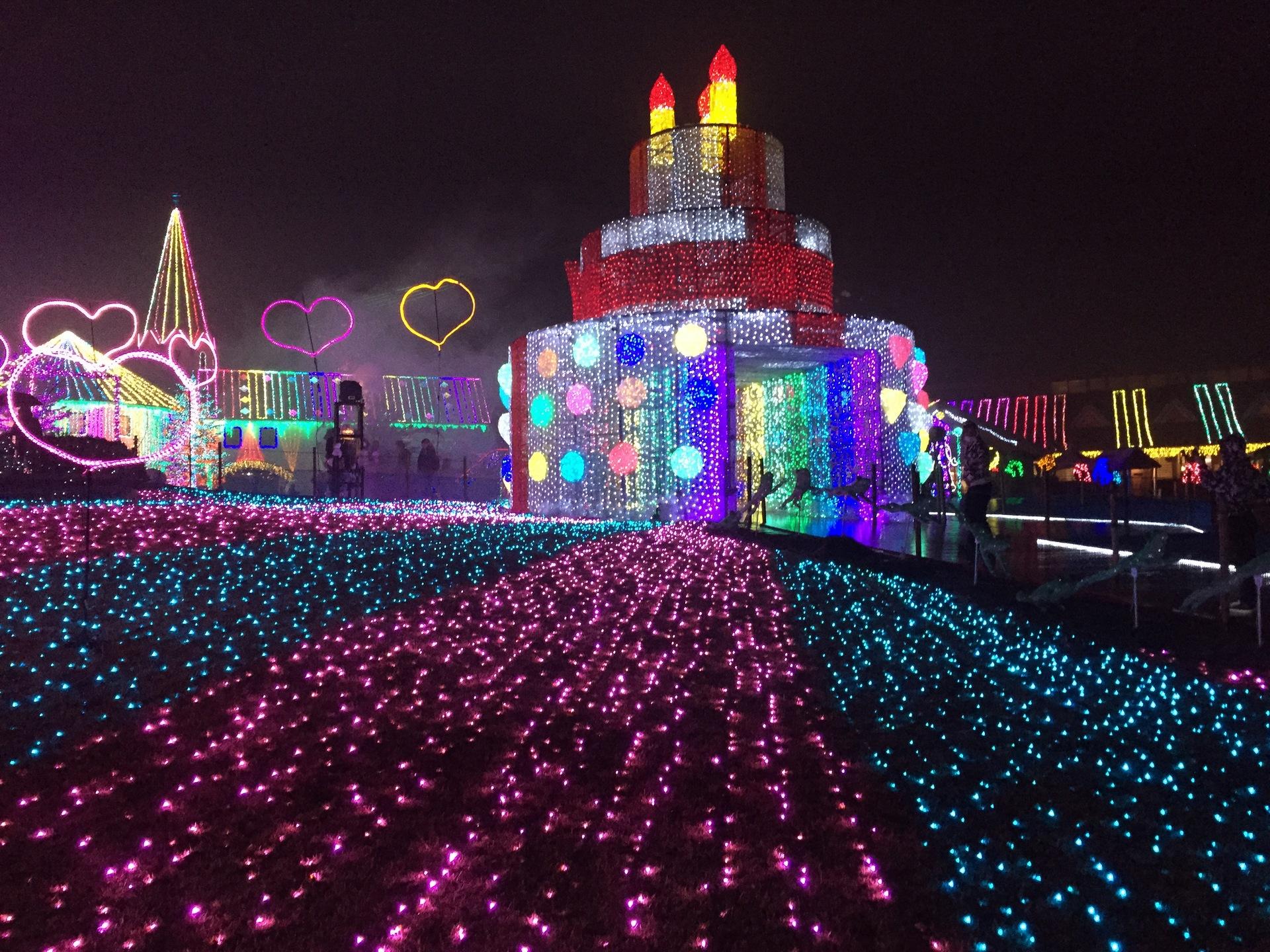 【東京ドイツ村】 関東三大イルミネーション。ネーミングが不思議だ・・・