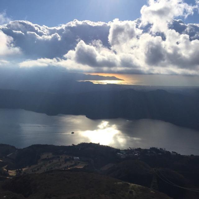 【箱根元宮(はこねもとつみや)】 駒ケ岳ロープウェイに乗ってお参り。芦ノ湖を臨む絶景が見られる!