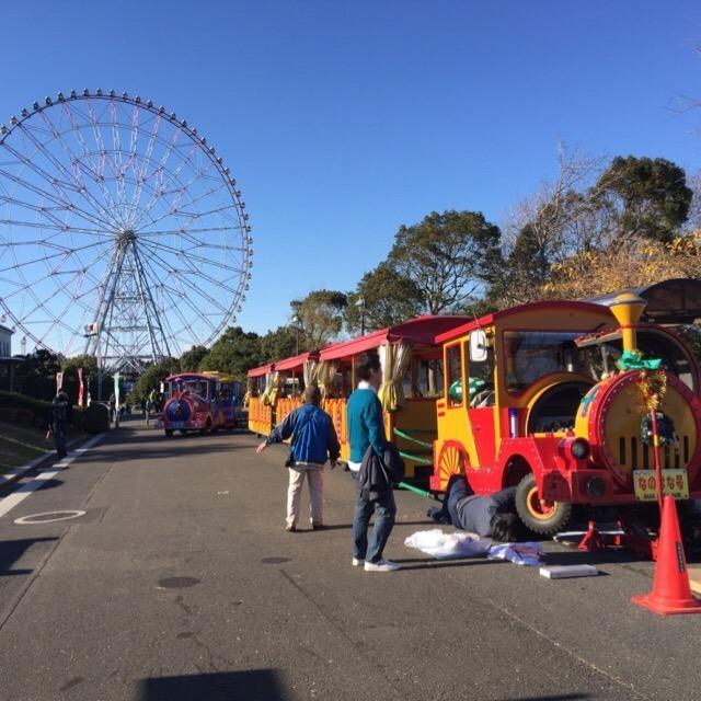【葛西臨海公園】 日本で2番目に大きな観覧車、関東では最大の観覧車がある