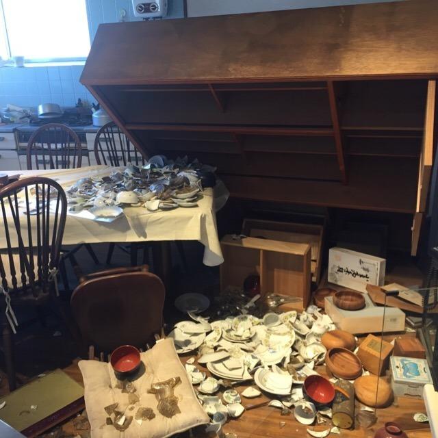 【野島断層保存館のメモリアルハウス】 震度7の地震に耐えた強い家。阪神淡路大震災被災者の教訓