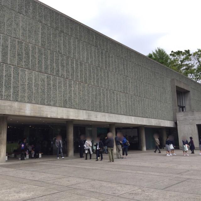 【国立西洋美術館】 東京で初めての世界文化遺産。外にあるロダンの彫刻は無料で撮影