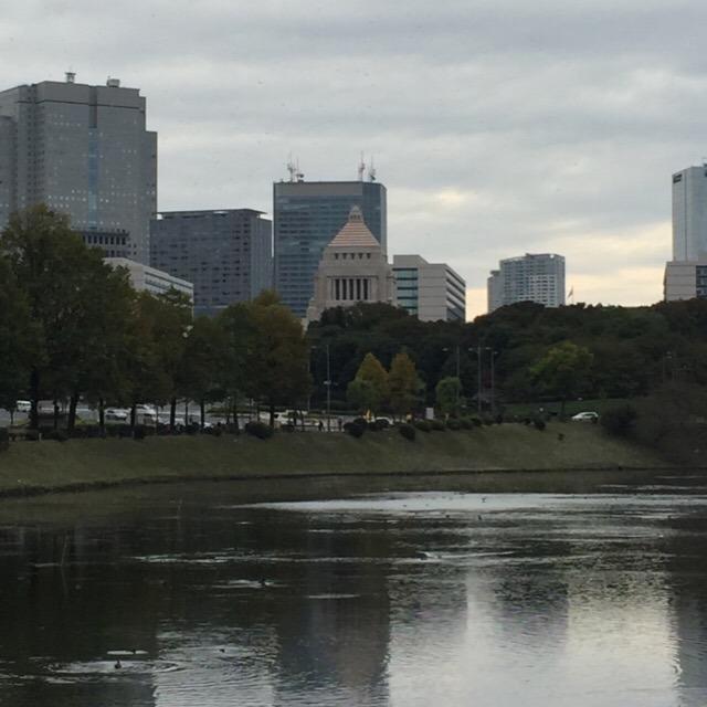 【国会議事堂、首相官邸】 国会議事堂は無料で見学できるらしい