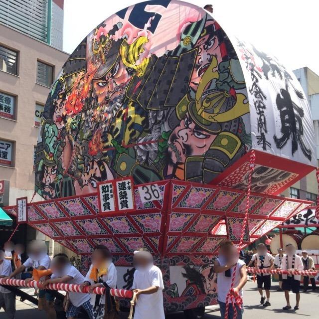 【弘前ねぷた祭り】 総数約80台! 県内最多のねぷたが運行される