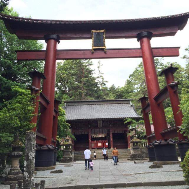 【北口本宮冨士浅間神社】 富士山の鬼門を守る神社で、富士登山北口の起点
