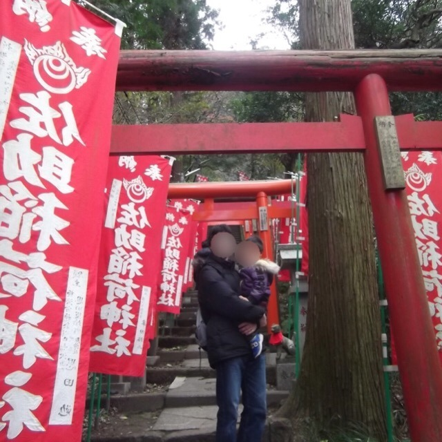 【佐助稲荷神社と、大仏ハイキングコース】 狐だらけでちょっとビビる。出世にご利益があるらしい