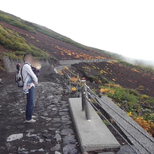 【富士山五合目】 高速バスを利用したら2時間遅れて、たった一時間の散策になった
