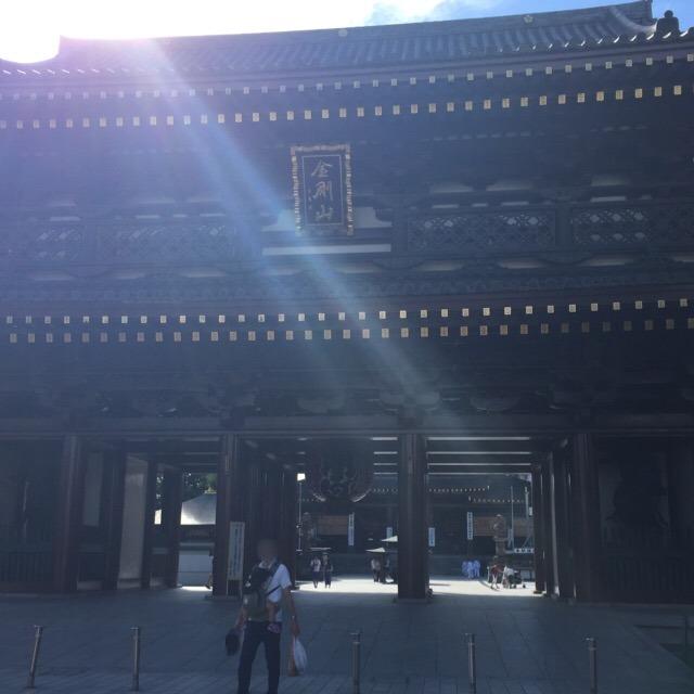 「厄除けのお大師さま」川崎大師 平間寺(へいけんじ)で、厄除け護摩祈祷を受けた