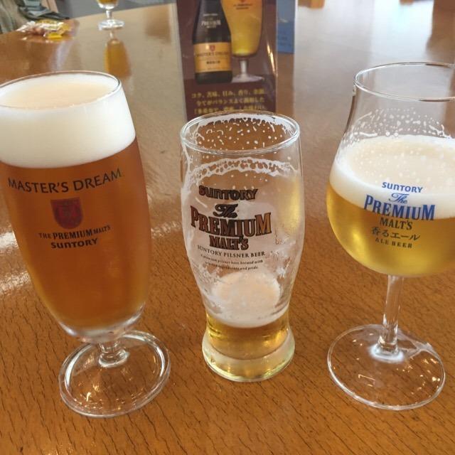 【サントリー武蔵野ビール工場】 小学生と、70分ガイドツアー参加体験。ここでザ・プレミアム・モルツが生まれたのだ!