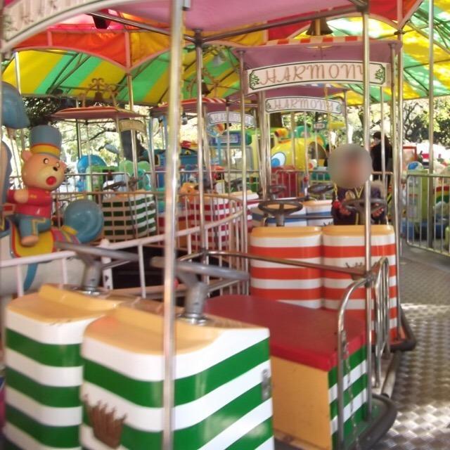 上野こども遊園地が、8月末で閉園していました・・・。