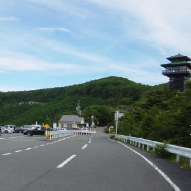 【護摩壇山(ごまだんざん)】 和歌山県最高標高。ごまさんスカイタワーと、高野龍神スカイライン