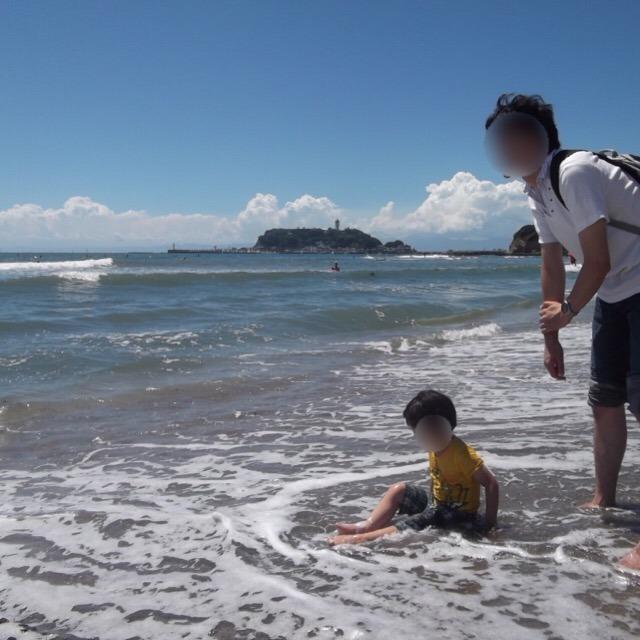 【江ノ電に乗って、鎌倉観光しよう!】 スラムダンクの踏み切りと、七里ガ浜散歩