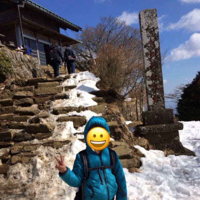 2月の大山(伊勢原)登山は積雪あり。アイゼン装備がオススメ