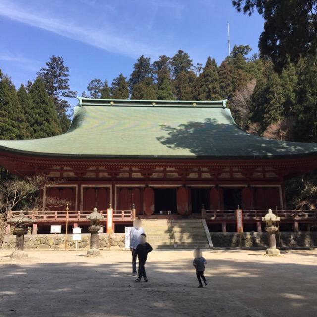 【比叡山延暦寺 西塔(さいとう)エリア】 比叡山最古の建物「釈迦堂」の本尊は、最澄自作の仏像