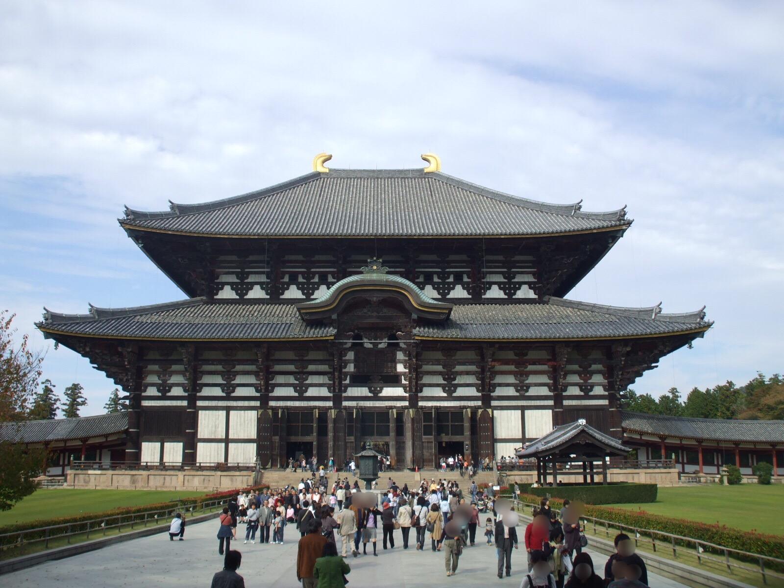 【奈良公園③ 東大寺大仏殿(奈良の大仏)その1】 奈良観光の定番スポット! 国宝で世界遺産。奈良の大仏が作られたワケとは・・・