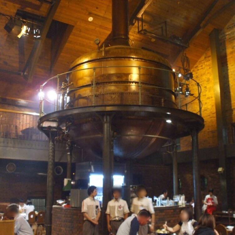 【サッポロビール園】 日本人による初のビール醸造所。雰囲気の良いケッセルホールで、ビールとジンギスカン!