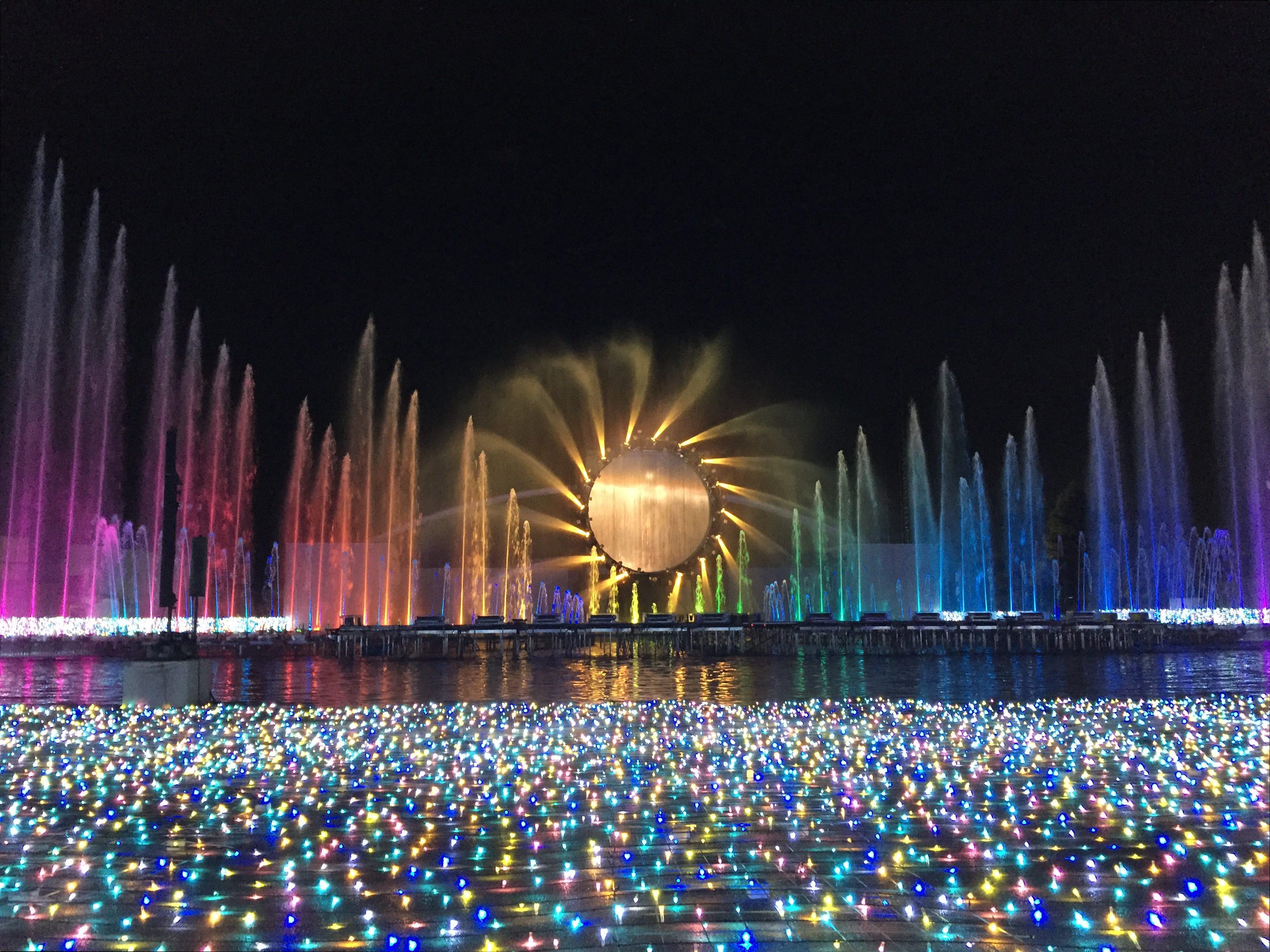 【よみうりランドジュエルミネーション 2018~2019】 今年は、過去最大規模の600万球で、イルミネーションがリニューアル! 噴水ショーもオススメ!