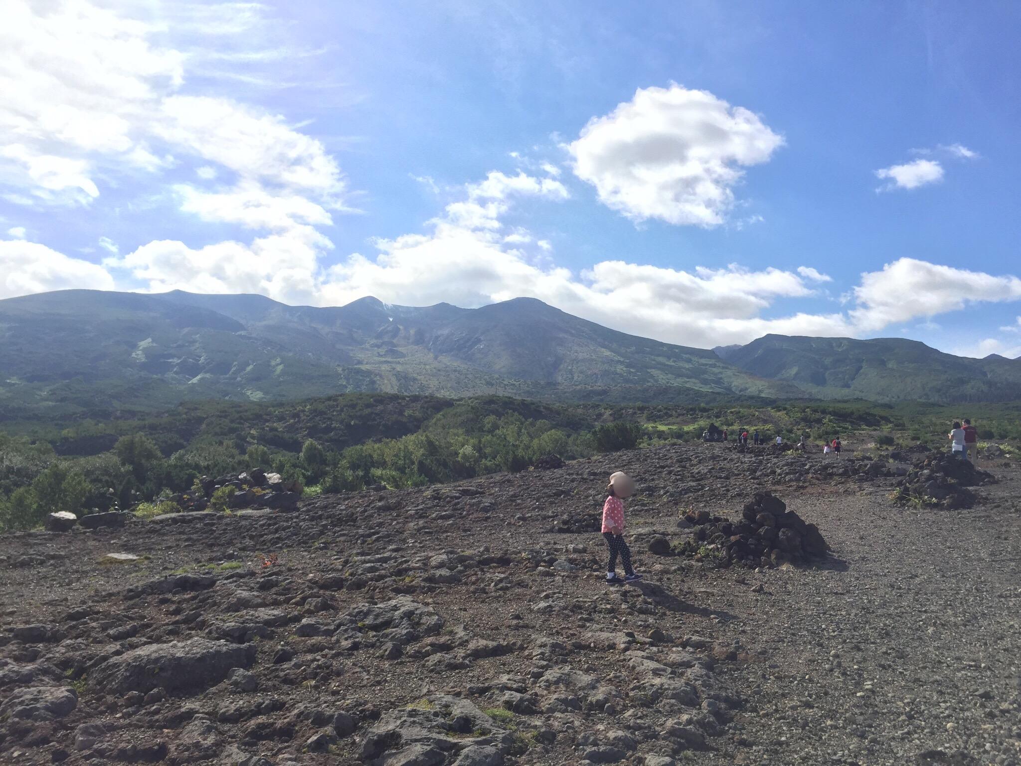 【十勝岳展望台】 白金温泉から車で10分、青い池からは車で15分。雄大な景色を楽しめます!