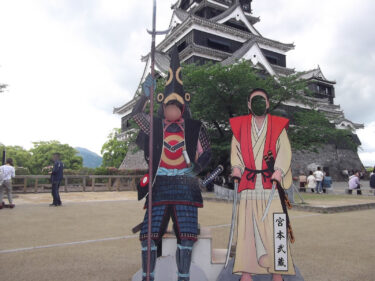 【熊本城】 2016年の熊本地震で甚大な被害! 2021年4月に天守閣の復旧工事が無事完了!